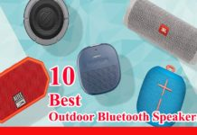 10 best outdoor Bluetooth speakers