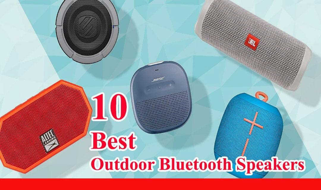 10 Best Outdoor Bluetooth Speakers Review