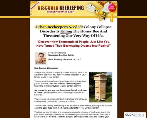 Discover Beekeeping | Beekeeping Made Easy! A Beginner Beekeeping Guide.