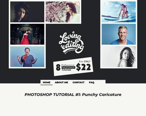 Loving Editing | Photoshop Tutorials