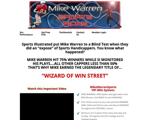 Mike Warren Sports