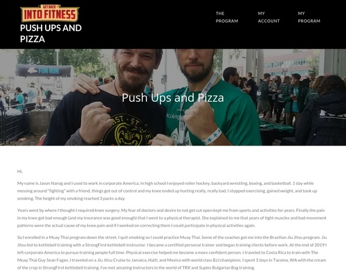 Push Ups and Pizza | Push Ups and Pizza
