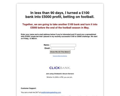 Challenge Betting